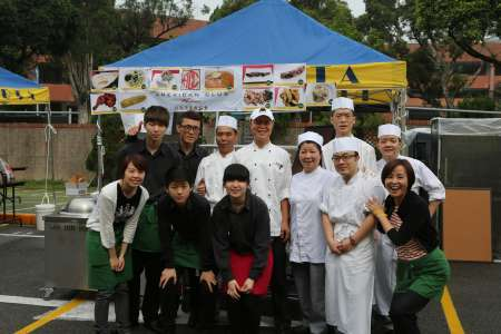 ACC Staff Team at TAS Food Fair in 2013