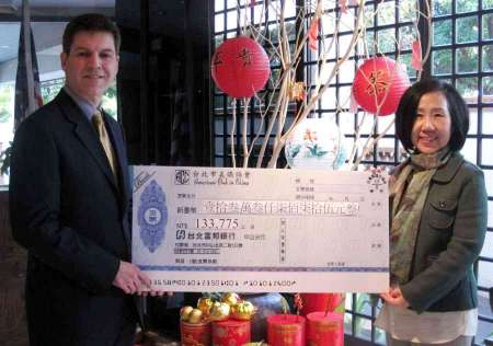 Make A Wish Check Presentation at ACC