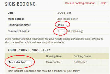 DiningBooking-RequiredInfo