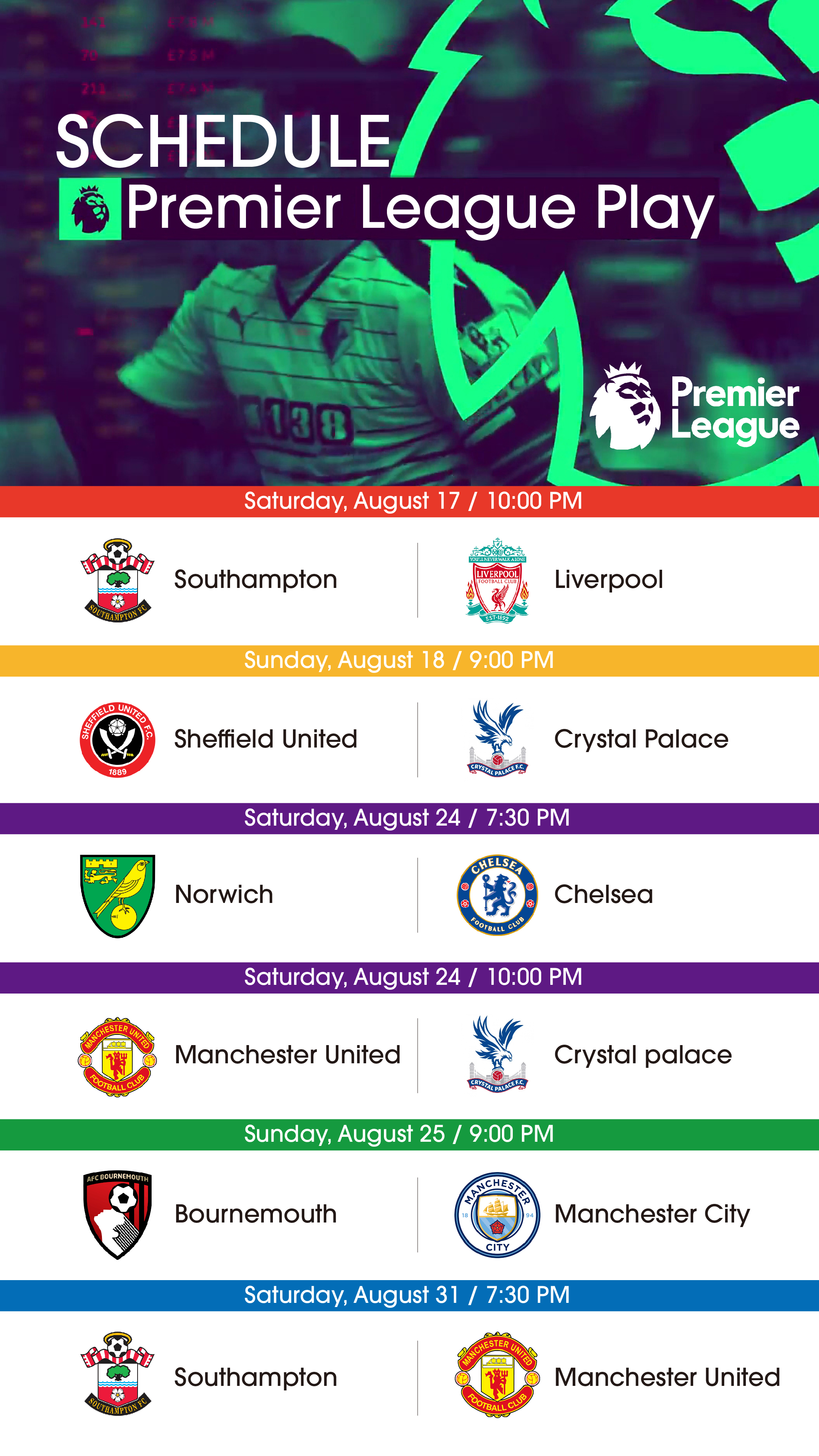 Watch the Premier League in Rendezvous | American Club Taipei